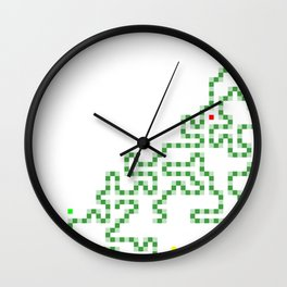 R Experiment 7 (Xmas snake tree) Wall Clock