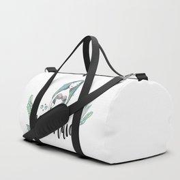 Art sleeping mermaid Duffle Bag