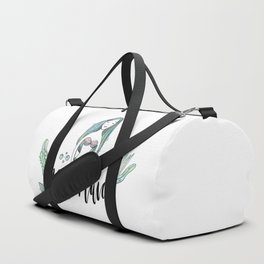 Art sleeping mermaid Duffle Bag