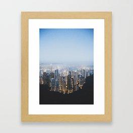 Hong Kong Framed Art Print