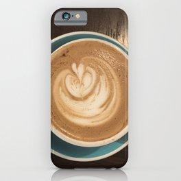 Latte Love iPhone Case