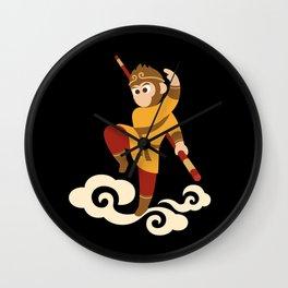 The Monkey King Wall Clock