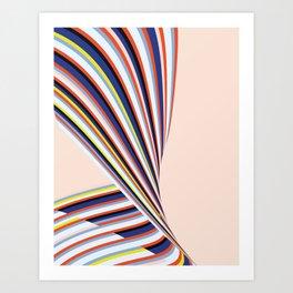 Wave Series p3 Art Print
