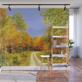 Fall Colors Maine Wall Mural