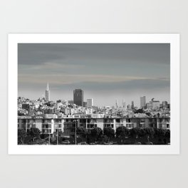 Panoramic View Art Print