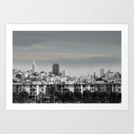 Panoramic View Art Print