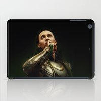 loki iPad Cases featuring Loki by Arkarti
