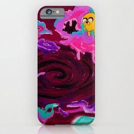Lumpy Space Void  iPhone Case