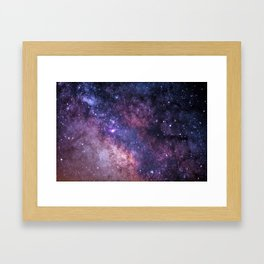 Celestial River Framed Art Print