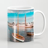 oslo Mugs featuring Oslo Boats by Léon