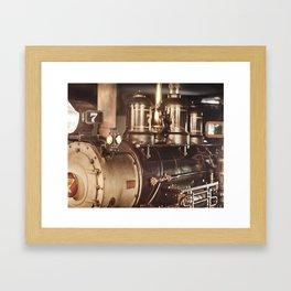 """""""#7 Locomotive"""" by Murray Bolesta! Framed Art Print"""