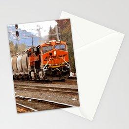 TRAIN YARD Stationery Cards