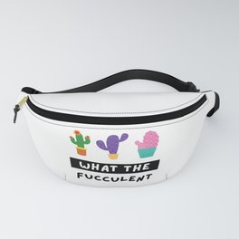What the Fucculent Fanny Pack