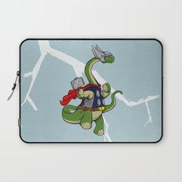 """Bronto""""THOR""""us - God of Thunder Lizards Laptop Sleeve"""