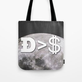 Doge worth more than a dollar Tote Bag