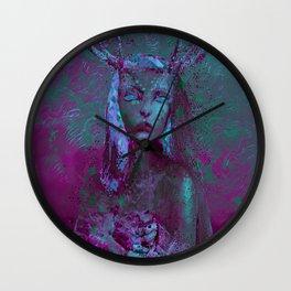 Fawn (Alternative Version) Wall Clock