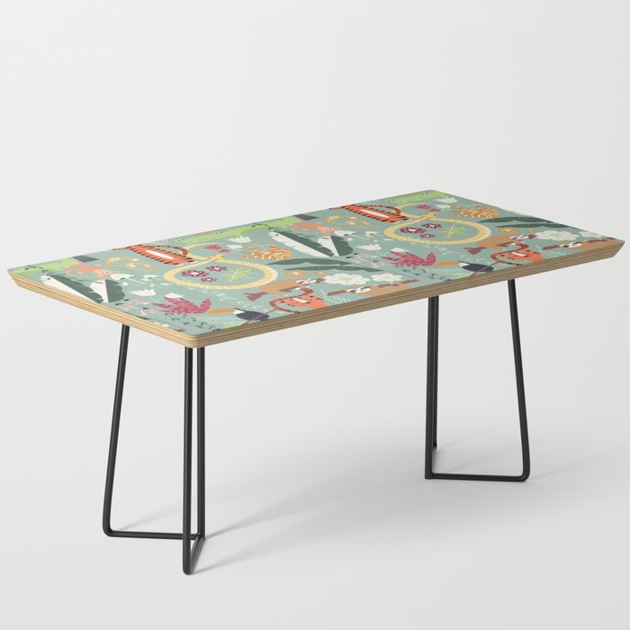 Rain forest animals 001 Coffee Table
