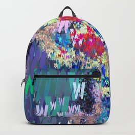 Wonder Type Woman - Abstract Pop Art Comic Backpack