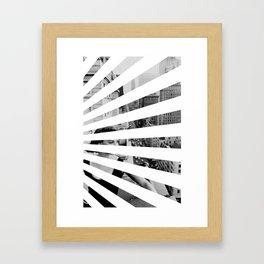 City Rays Framed Art Print