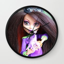 Monster High: Howleen Wolf custom from The Blank Flank Wall Clock