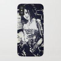 modern vampires of art history iPhone & iPod Cases featuring Vampires by Streetlight by Michael Duggan