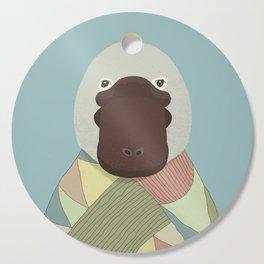 Whimsical Platypus Cutting Board