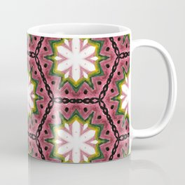 Dusted cyclamen flowers in chains Coffee Mug