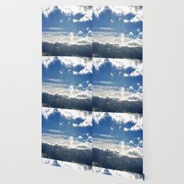 Windy Day Sky Wallpaper