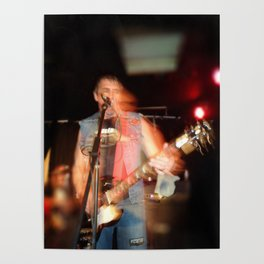 Joey from D.O.A live onstage Poster