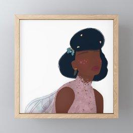 Black Fairy Godmother Framed Mini Art Print
