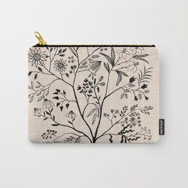 Let Me See All Your Branches Pastel Color Carry-All Pouch