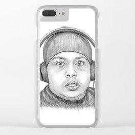 Dashiexp Portrait Clear iPhone Case