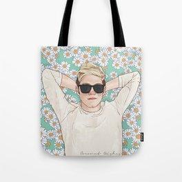 Niall daisies field Tote Bag