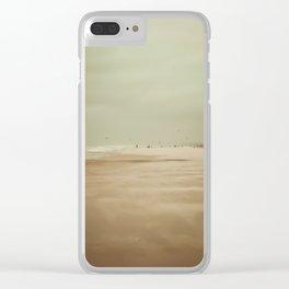 Wind Beach Clear iPhone Case