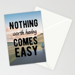 Motivational - Determination - Motivation Stationery Cards