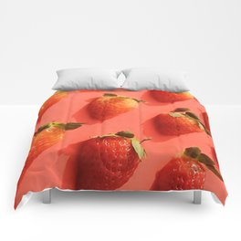Pop Strawberry Comforters