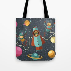 Space Scavengers Tote Bag