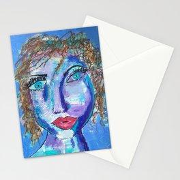 Meet Marisol, Queen of the Cul de Sac, an Intriguing Face Stationery Cards