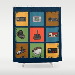 Gaming Generations 3 Shower Curtain