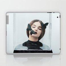 Butterfly in a box Laptop & iPad Skin