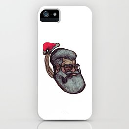 Saint Nick iPhone Case