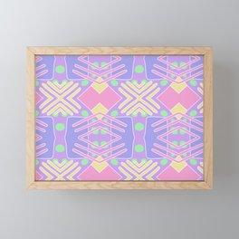 Pastel Gal Framed Mini Art Print