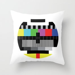 Mire - Testcard - Big Bang Theory Throw Pillow