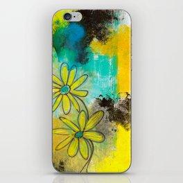 Everyday Flowers iPhone Skin