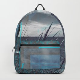 Before the Storm - blue graphic Backpack