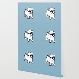 Chalkies pug dog color 5 Wallpaper