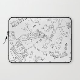 When THINGS Attack! Laptop Sleeve