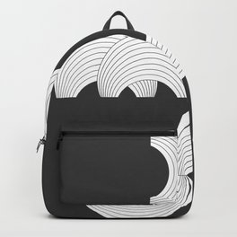 Xmas Typo Black #society6 #decor #buyart Backpack