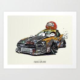 ozizo art 0022 Art Print