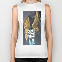 grace Biker Tanks featuring grace by Ashley James